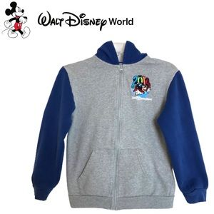 Walt Disney World hoodie 2014 Logo Kids size Large